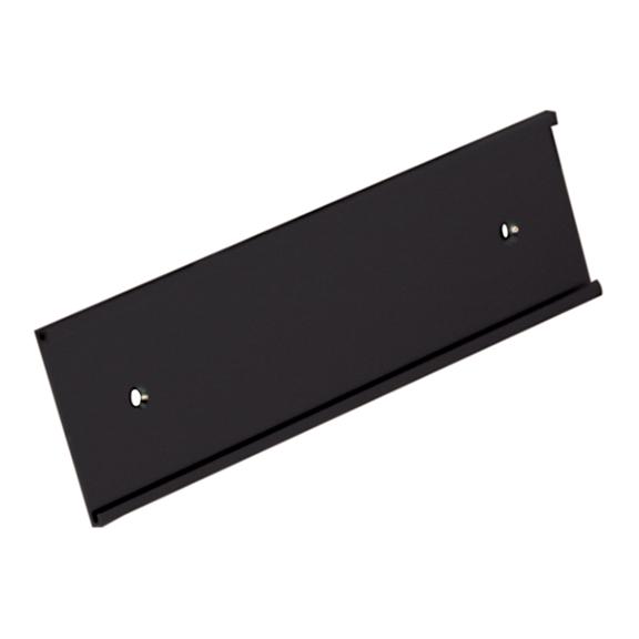 black_nameplate_wall_holder